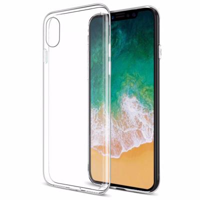 Housse Silicone Ultra Slim Transparente pour Apple iPhone XS