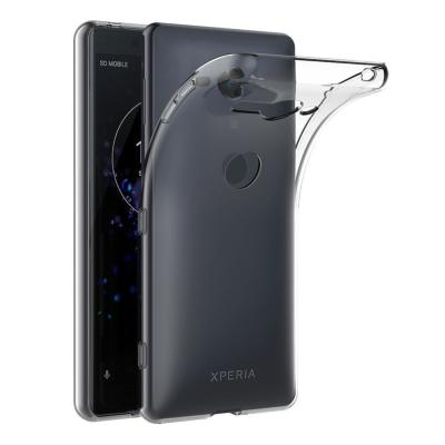 Housse Silicone Ultra Slim Transparente pour Sony Xperia XZ2 Compact