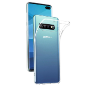 Housse Silicone Ultra Slim Transparente pour Samsung Galaxy S10 Plus
