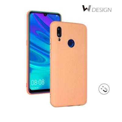 Coque Housse Silicone Rose avec Aimant intégré pour Huawei P Smart 2019