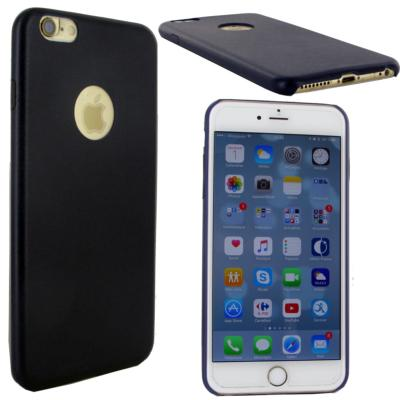 coque arriere protecticon coloris beu marine pour apple iphone 6 plus iphone