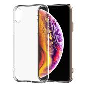Housse Silicone Ultra Slim Transparente pour Apple iPhone XS Max